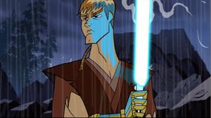 Anakin lightsaber sizzle