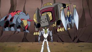 Meltdown and Dinobots