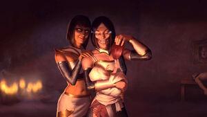 Mileena MK11 Ultimate ending 3