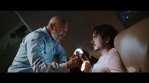 Obadiah Stane Steals Tony Stark's Arc Reactor - Iron Man (2008)