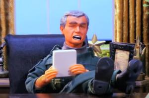 President Bush (Robot Chicken)