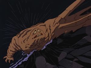 Clayface falls to his doom