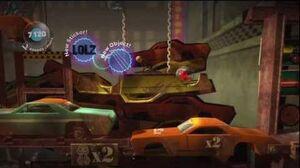 LittleBIGPlanet (720p HD) Walkthrough Part 50 - Lowrider - Initial & Aced