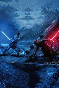 Rise of Skywalker Poster Textless