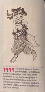 Risky Boots sketch1