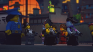 Ultra Violet and the Sons of Garmadon is now defeated