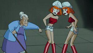 Dee Dee Twins with Nana Harley