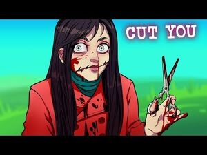Don't Talk to This Beautiful Girl! - Slit Mouthed Woman - Horror Animation