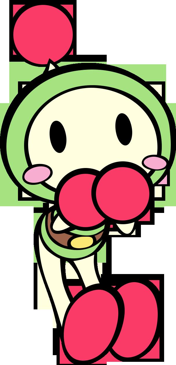 Green Bomberman
