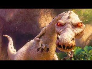 Ice Age 3- Dawn Of The Dinosaurs (2009) - Buck Vs Rudy Battle Scene! - Movieclip HD