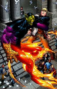 Kl'rt the Super-Skrull (Young Avengers Vol 1 9)