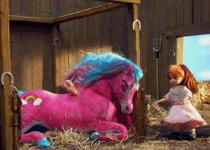 Little Girl Pegasus Pink
