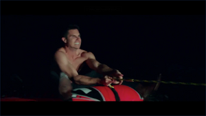 Max Climbs a Raft (Crappy Quality)