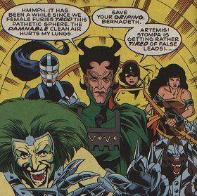 Female Furies on Battle (DC Comics)