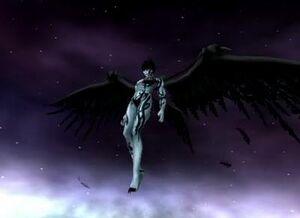 Flying Dark Seraphim
