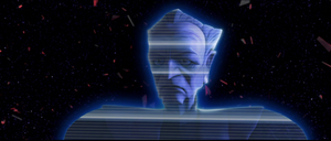 Palpatine debris hologram