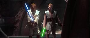 Skywalker Kenobi lightsabers