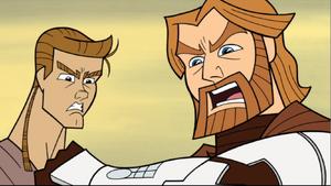 Skywalker Obi-Wan shocked