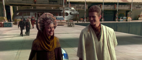 Anakin Padmé disguised