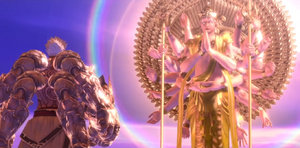 Chakravartin and Asura