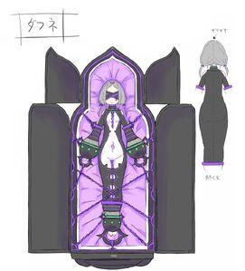 Daphne Light Novel Concept Art 1