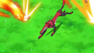 Fangmon is in the middle of the line of fire