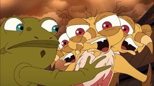 Giant Three Headed Monster Tito's Breakdown