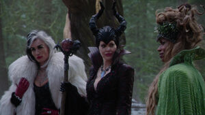 Maleficent, ursula and curella 5
