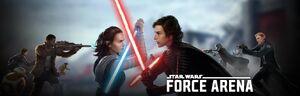 Star Wars Force Arena Sequel Banner