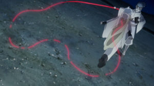 Urashiki attacks Toneri.