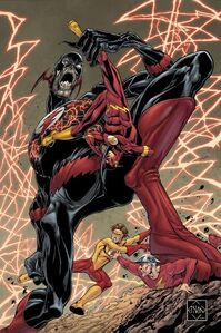 Barry Allen Black Flash 001