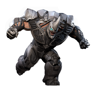 Rhino from MSM render