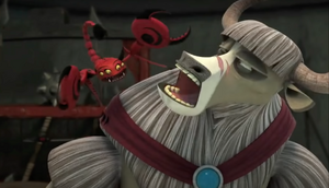 Scorpion Angry