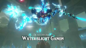 Shard of Calamity Ganon Waterblight Ganon