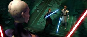 Anakin Obi-Wan Ventress