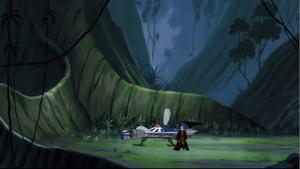Anakin Skywalker jungle