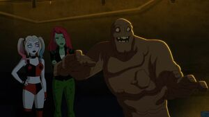 Clayface Harley and Posion Ivy