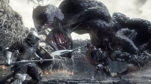 Dark Souls 3 Iudex Gundyr Boss Fight (4K 60fps)