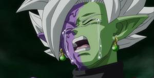 Fusion Zamasu Crying