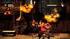 Inferno Using Flamethrower 5