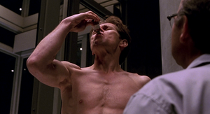 Norman drinks the serum