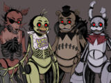 Animatronics Drawkill's (Five Nights at Freddy's:New Generation)