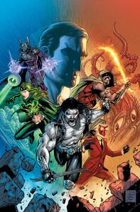 Justice League vs Suicide Squad Vol 1 2 Textless