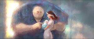 Kingpin with Vanessa and baby Richard