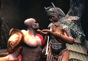 Lahkesis and Kratos