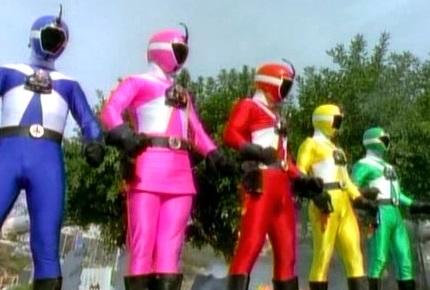 Cyborg Rangers
