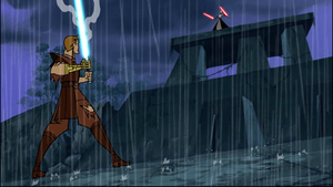 Asajj Skywalker rain