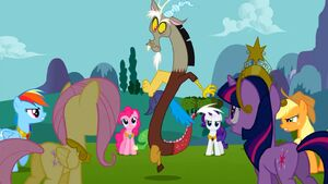 Discord and Mane 6