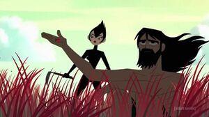 "Jack and Ashi on the island Ashi's Flashback with the Ladybug ""XCV"""