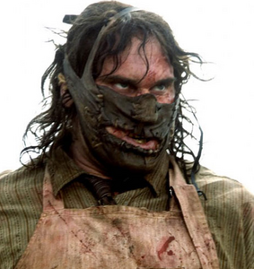 Leatherface half mask